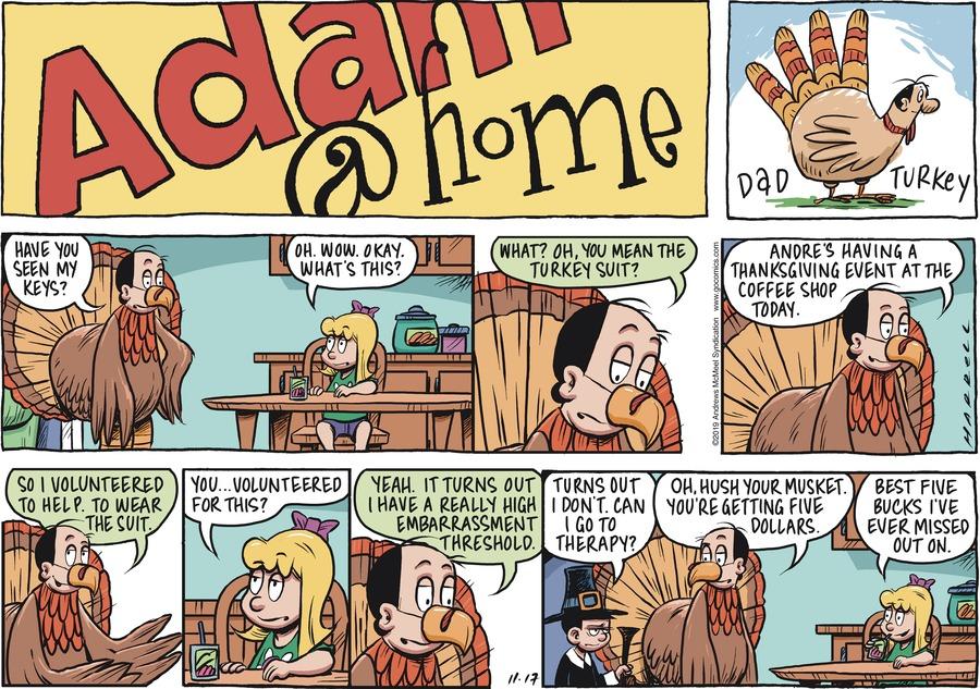 Adam@Home Comic Strip for November 17, 2019