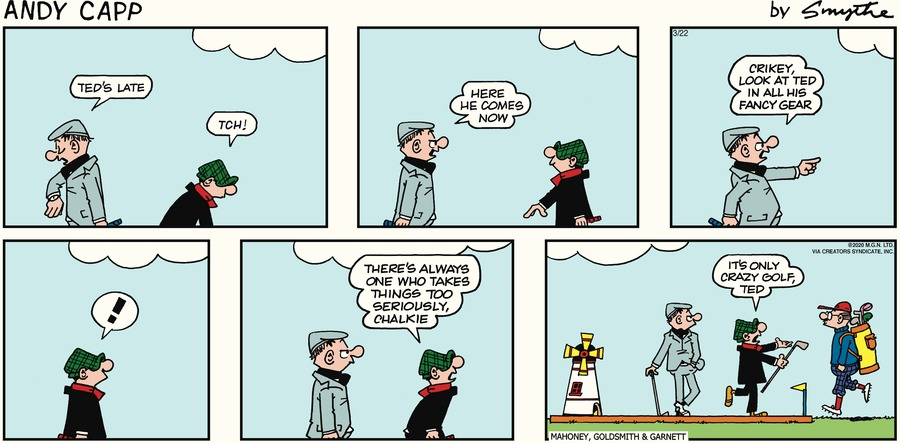 Andy Capp Comic Strip for March 22, 2020