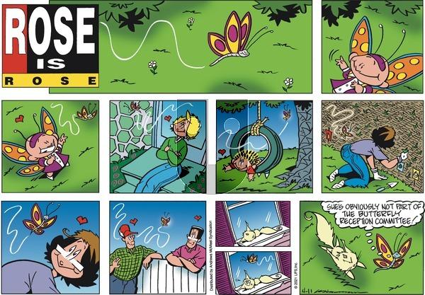 Rose is Rose on Sunday April 11, 2021 Comic Strip