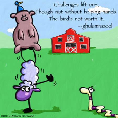 Haiku Ewe for Oct 19, 2012 Comic Strip