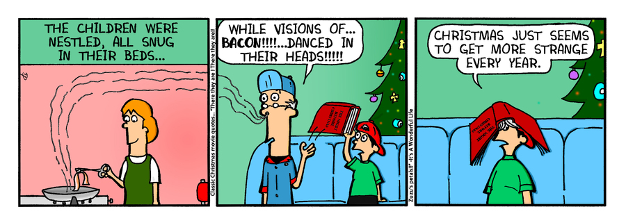 Just Say Uncle for December 20, 2013 Comic Strip