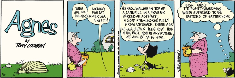 Agnes Comic Strip for April 05, 2015