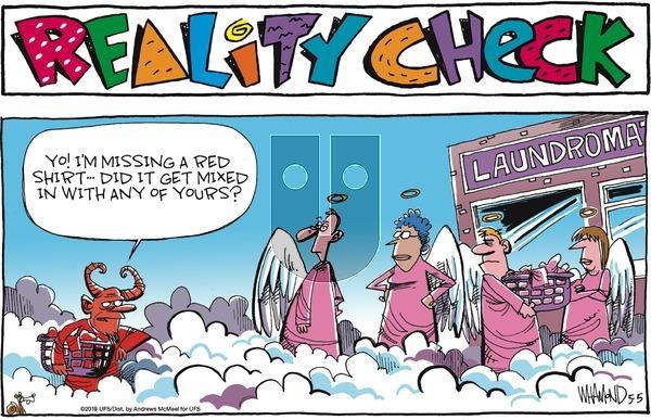 Reality Check on Sunday May 5, 2019 Comic Strip