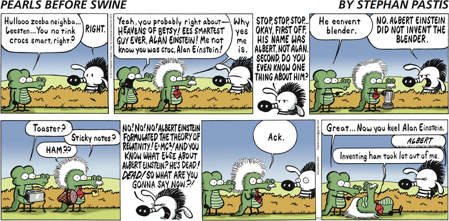Pearls Before Swine Comic Strip for July 01, 2012