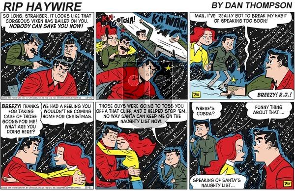 Rip Haywire - Sunday April 12, 2020 Comic Strip