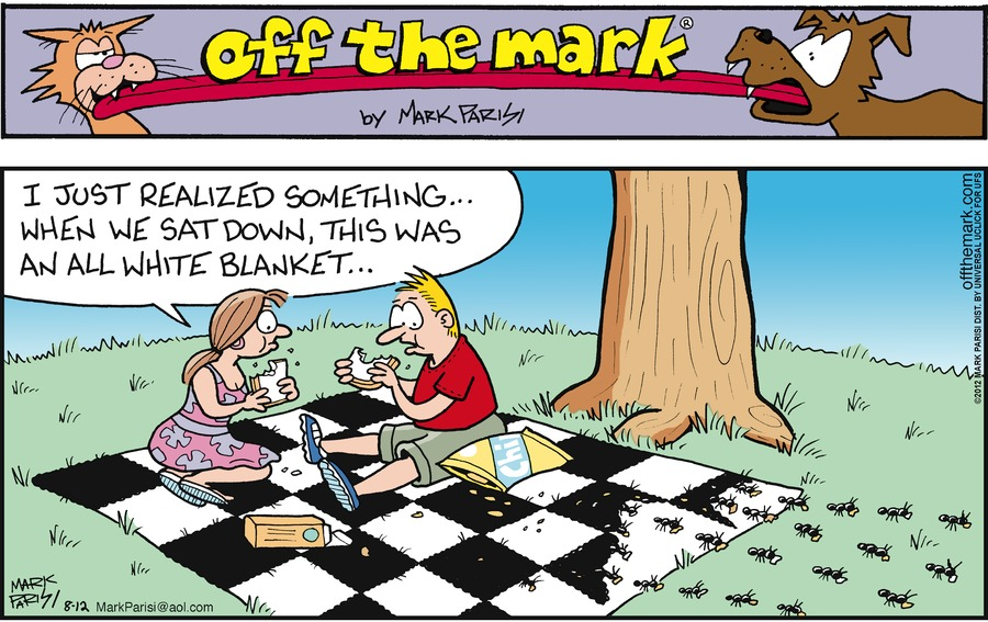 Off the Mark Comic Strip for August 12, 2012