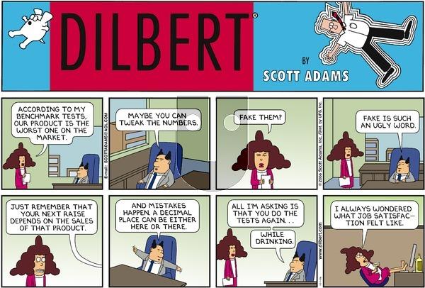 Dilbert - Sunday October 1, 2006 Comic Strip