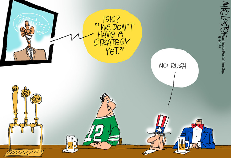 Mike Lester for Aug 30, 2014 Comic Strip