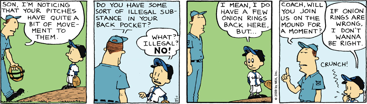Big Nate Comic Strip for July 31, 2009