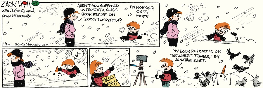 Zack Hill Comic Strip for January 24, 2021