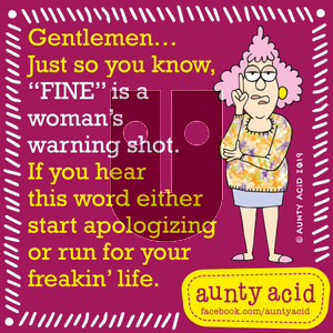 Aunty Acid on Saturday September 7, 2019 Comic Strip
