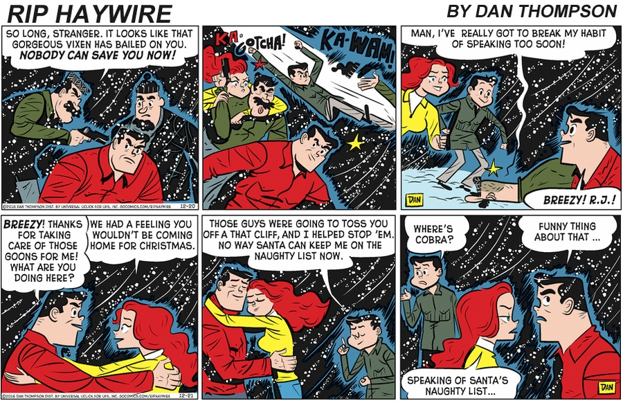 Rip Haywire Comic Strip for April 12, 2020