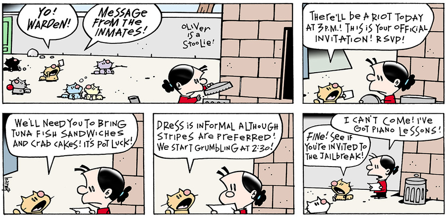 Ten Cats for May 19, 2013 Comic Strip