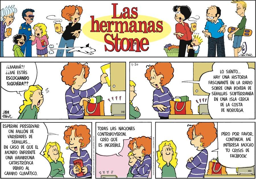 Las Hermanas Stone Comic Strip for November 20, 2016