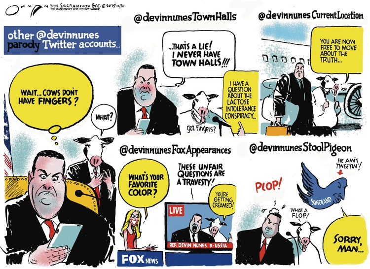 Jack Ohman Comic Strip for December 01, 2019