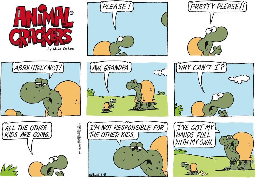 Animal Crackers by Mike Osbun for May 05, 2019