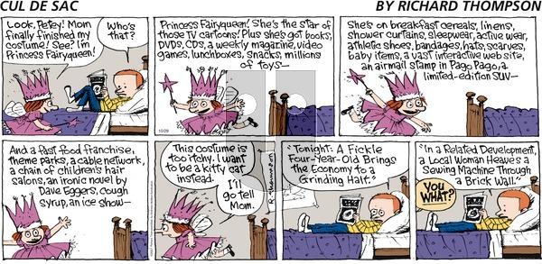 Cul de Sac on Sunday October 29, 2017 Comic Strip