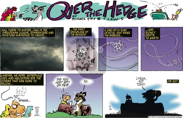 Over the Hedge on Sunday November 17, 2019 Comic Strip