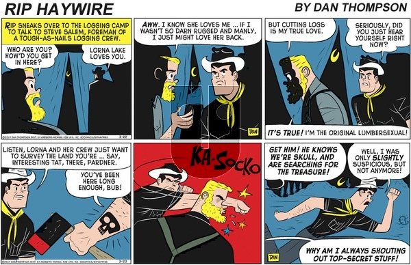 Rip Haywire on Sunday May 17, 2020 Comic Strip