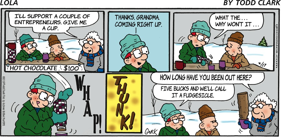 Lola Comic Strip for February 17, 2019