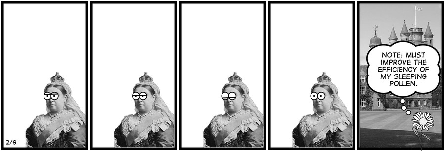 New Adventures of Queen Victoria Comic Strip for February 06, 2019
