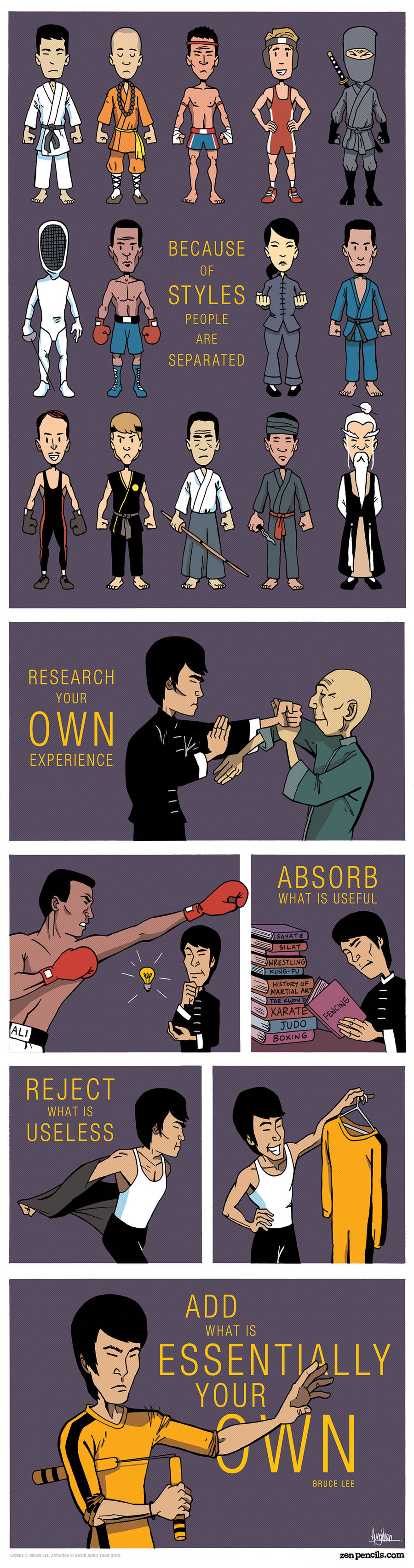 Zen Pencils for Sep 6, 2013 Comic Strip