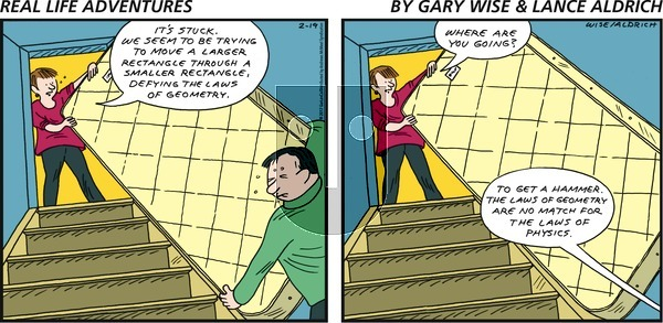 Real Life Adventures on Sunday February 19, 2017 Comic Strip