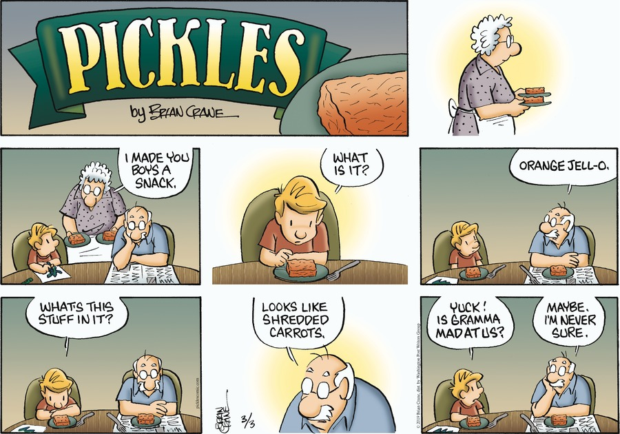 Pickles by Brian Crane for March 03, 2019