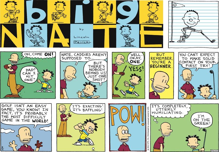 Big Nate for Aug 4, 2013 Comic Strip