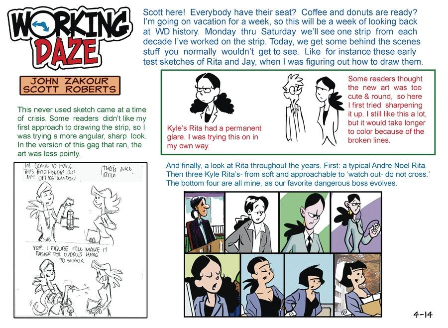Working Daze for Apr 14, 2013 Comic Strip