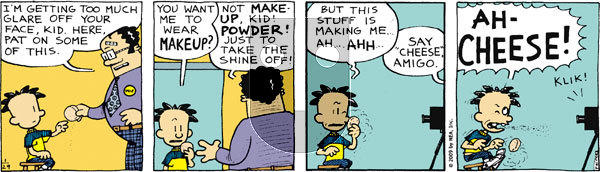 Big Nate on Thursday January 29, 2009 Comic Strip