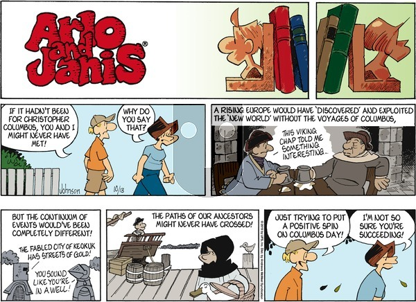 Arlo and Janis on Sunday October 13, 2019 Comic Strip