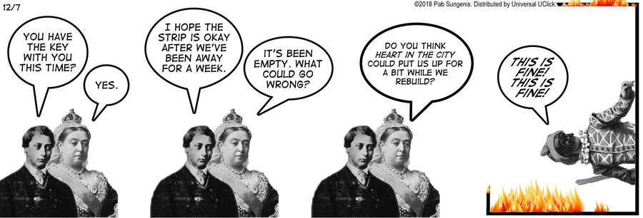 New Adventures of Queen Victoria Comic Strip for December 07, 2018