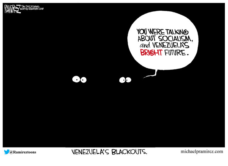 Michael Ramirez Comic Strip for March 16, 2019