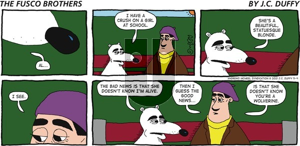 The Fusco Brothers on Sunday May 9, 2021 Comic Strip