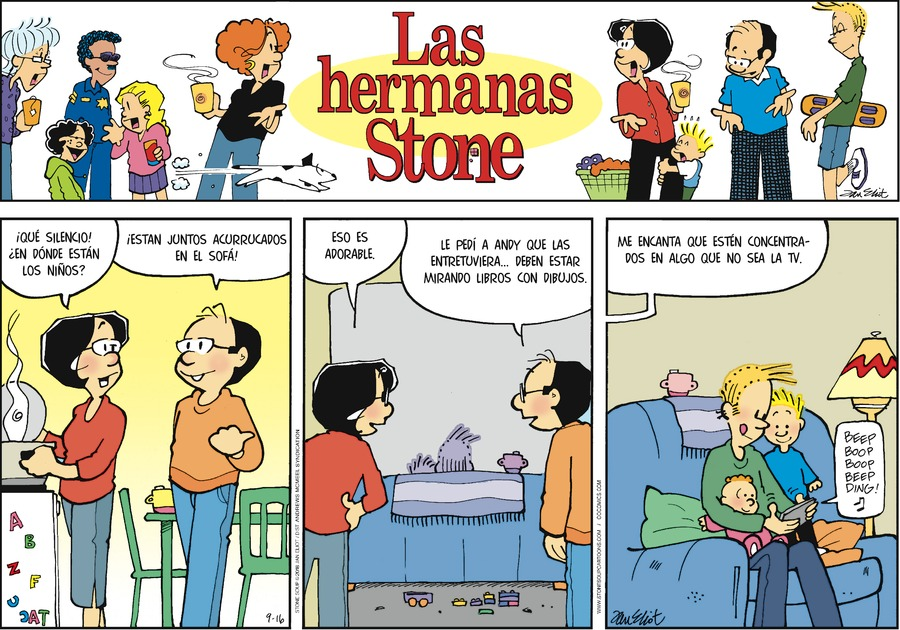 Las Hermanas Stone by Jan Eliot for September 16, 2018