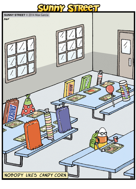 Sunny Street Comic Strip for October 29, 2014