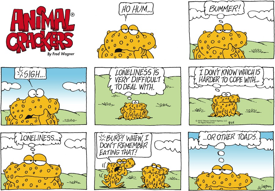 Animal Crackers for Aug 25, 2013 Comic Strip