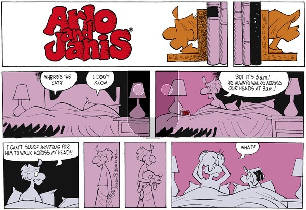 Arlo and Janis on Sunday October 29, 2000 Comic Strip
