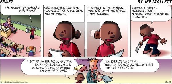 Frazz - Sunday May 11, 2014 Comic Strip