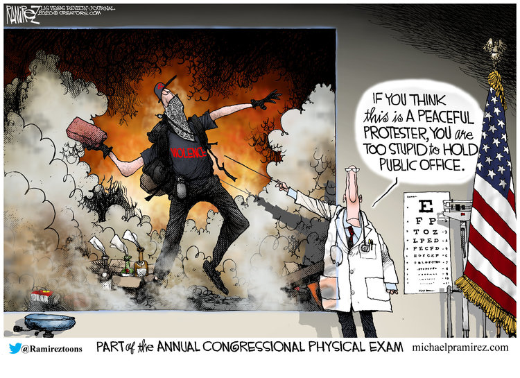 Michael Ramirez Comic Strip for August 02, 2020