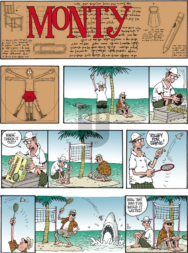 Monty on Sunday September 27, 2020 Comic Strip