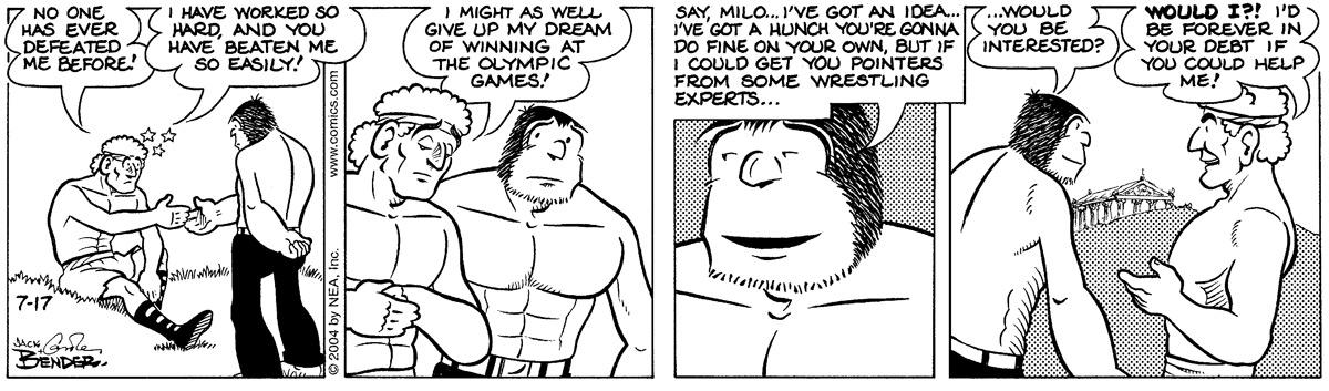 Alley Oop for Jul 17, 2004 Comic Strip