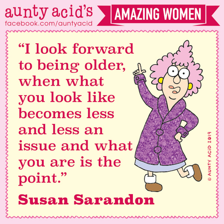 Aunty Acid Comic Strip for November 08, 2019