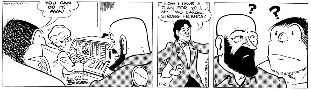 Alley Oop for Dec 21, 2001 Comic Strip