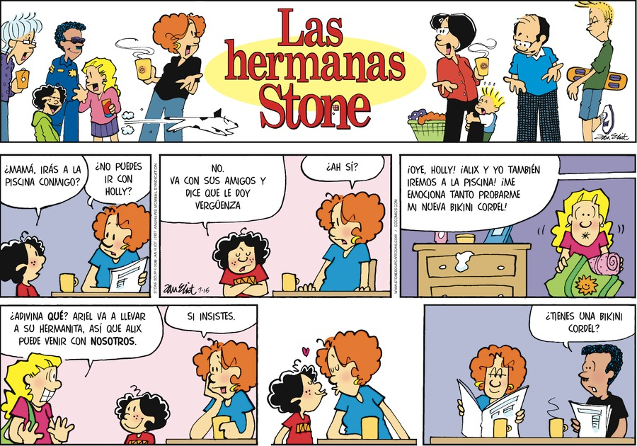 Las Hermanas Stone by Jan Eliot for Jul 15, 2018