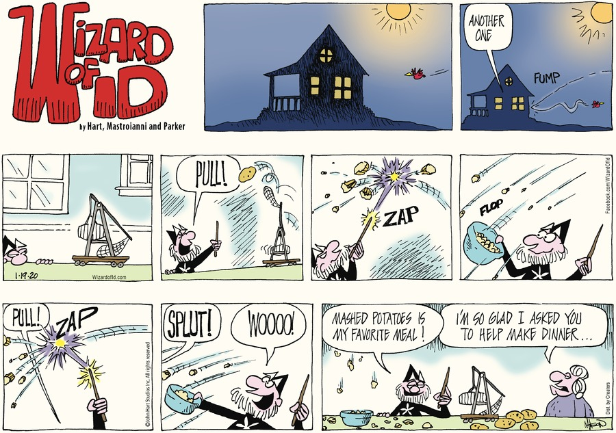 Wizard of Id Comic Strip for January 19, 2020