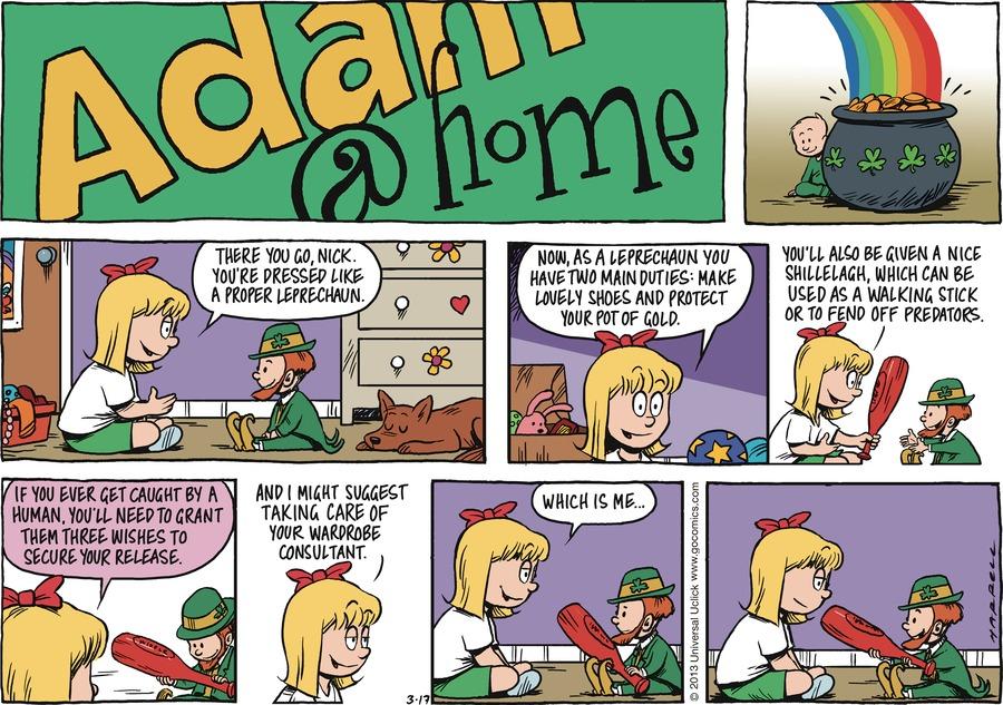 Adam@Home for Mar 17, 2013 Comic Strip