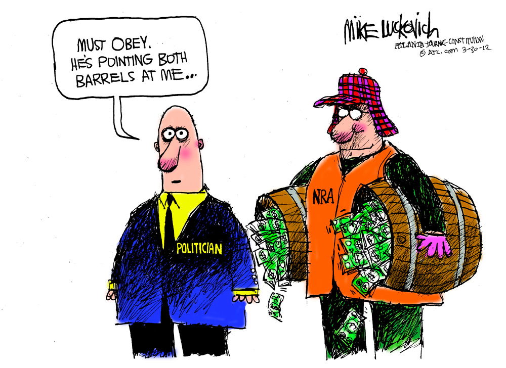 Mike Luckovich Comic Strip for March 30, 2012