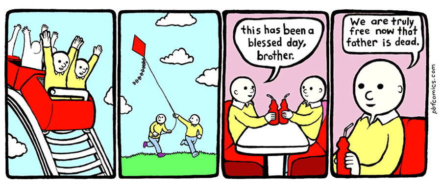 Perry Bible Fellowship by Nicholas Gurewitch on Tue, 27 Apr 2021